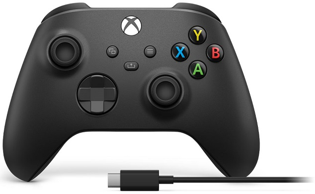 Microsoft Xbox Wireless Controller + USB-C Cable
