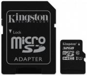 Kingston 32Gb microSDHC Class 10 UHS-I (SDC10G2/32GB)